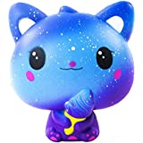 Ailimy Squishies Slow Rising Ice Cream Cat Jumbo Squishy Kids Toy Prime Cheap Kawaii Animal Party Supply