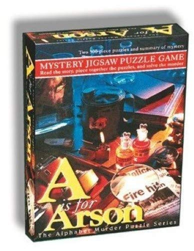 TDC Games Mystery Jigsaw Puzzle Game - A is for Arson ()
