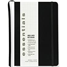 Essentials Grid-lined Notebook, Large, A5 Size (Journal, Diary)
