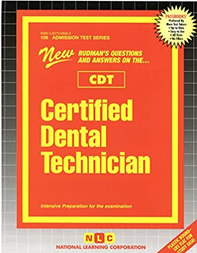 certified dental technician cdt 9780837358062 medicine health rh amazon com air force dental technician manual Dental Therapist
