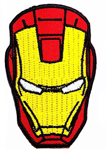 Avengers Ironman 2.8 x 1.9 inches patch Jacket T- shirt Patch Sew Iron on Embroidered Badge Sign (Iron Man Costum)