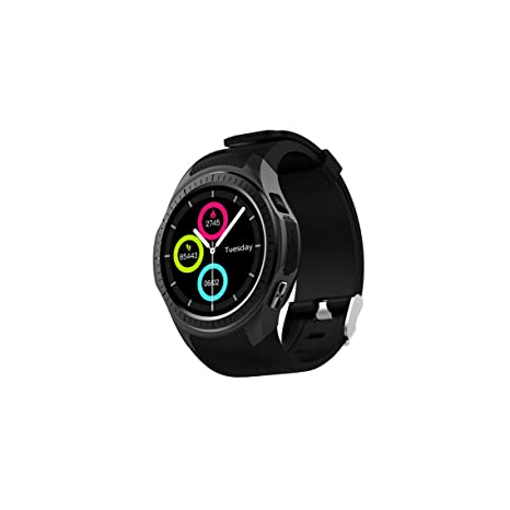 HOIHO Pantalla de color Reloj inteligente Pantalla táctil del teléfono Cámara Bluetooth-Ranura para tarjeta