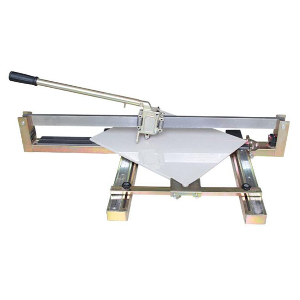 Wotefusi Manual Tile Cutter 39.4 inch Tile Saw Cutting Tool with Metal Rail for Tile Stone Material
