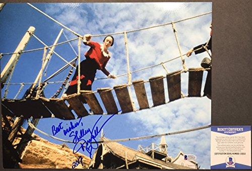 RARE!! Shelley Duvall OLIVE OYLE POPEYE Signed 11x14 #3 Photo BAS