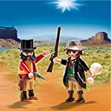 PLAYMOBIL Sheriff & Outlaw Duo Pack Set