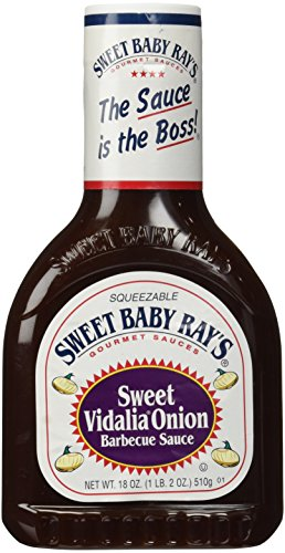 Sweet Baby Ray's Barbecue Sauce, Sweet Vidalia Onion, 18-Ounce (Pack of 2)