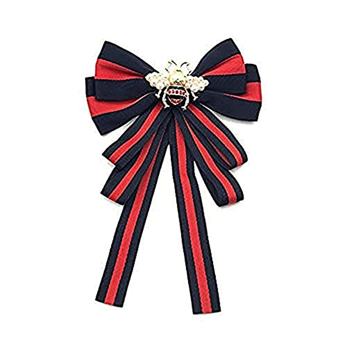 b61ac282b9ee0 Bee Bowknot Bow Tie brooch Brooch Pin Wedding Party Bow Tie Pre Tied Neck  Tie Shirt Dress Collar For Women Girl