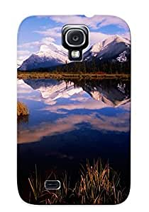 Forever Collectibles Mt. Rundle From Vermillion Lakes, Banff National Park, Canada Hard Snap-on Galaxy S4 Case by supermalls