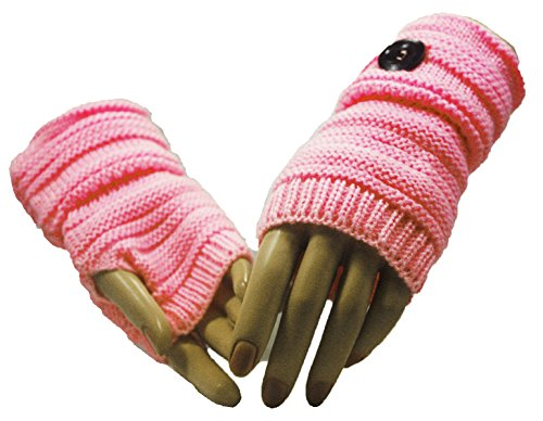 Fashion Dimensions Pink Country Time Arm Warmer Gloves