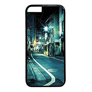 Japan Tokyo Street At Night Protective Durable Hard Plastic Back Fits Cover Case for iphone 6 Plus 5.5-1122091