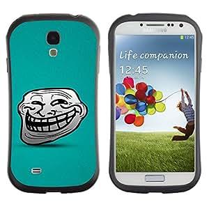 Suave TPU GEL Carcasa Funda Silicona Blando Estuche Caso de protección (para) Samsung Galaxy S4 I9500 / CECELL Phone case / / Big Smile Cartoon Face Comic Character Teeth /