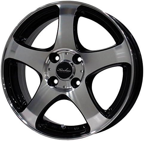 NANKANG(ナンカン) サマータイヤ&ホイール NS-2R 195/50R15 KIRCHEIS(キルヒアイス) S5 15x6.0 +45 100x4 BLACK POLISH 15インチ 4本セット