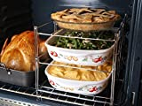 KOVOT 3-Tier Collapsible Oven Rack - Maximizes Cooking Space In Your Oven