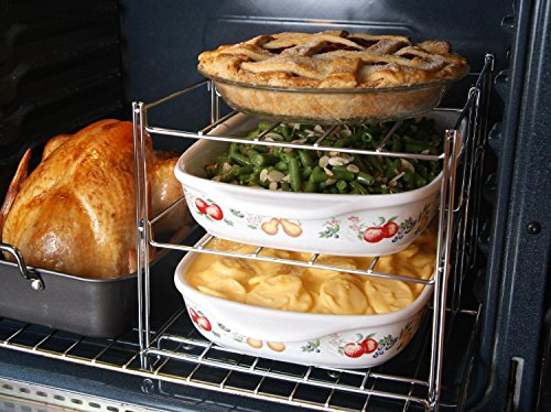 KOVOT 3 Tier Collapsible Racks Oven