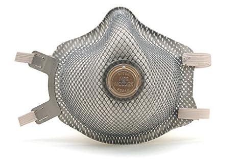 M/L N99 Premium soldadura respirador de partículas w/válvula y paño de ajustable