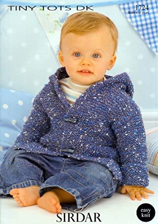 Sirdar Snuggly Tiny Tots DK Baby Strickmuster, 1724: Amazon.de ...