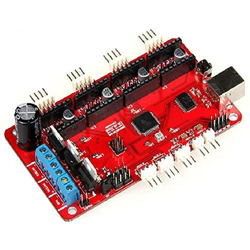 3D Printer & Supplies - 3D Printer Module Board - Reprap 3D Printer Accessories Azteeg Control Board Motherboard by OCHOOS