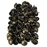 Bronzy 20x25mm Furniture Elegant Upholstery Nails Tacks Studs Pack of 100