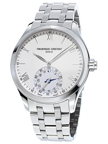 Frederique Constant Men's 'Horological Smart' Swiss Quartz Stainless Steel Casual Watch, Color:Silver-Toned (Model: FC-285S5B6B)