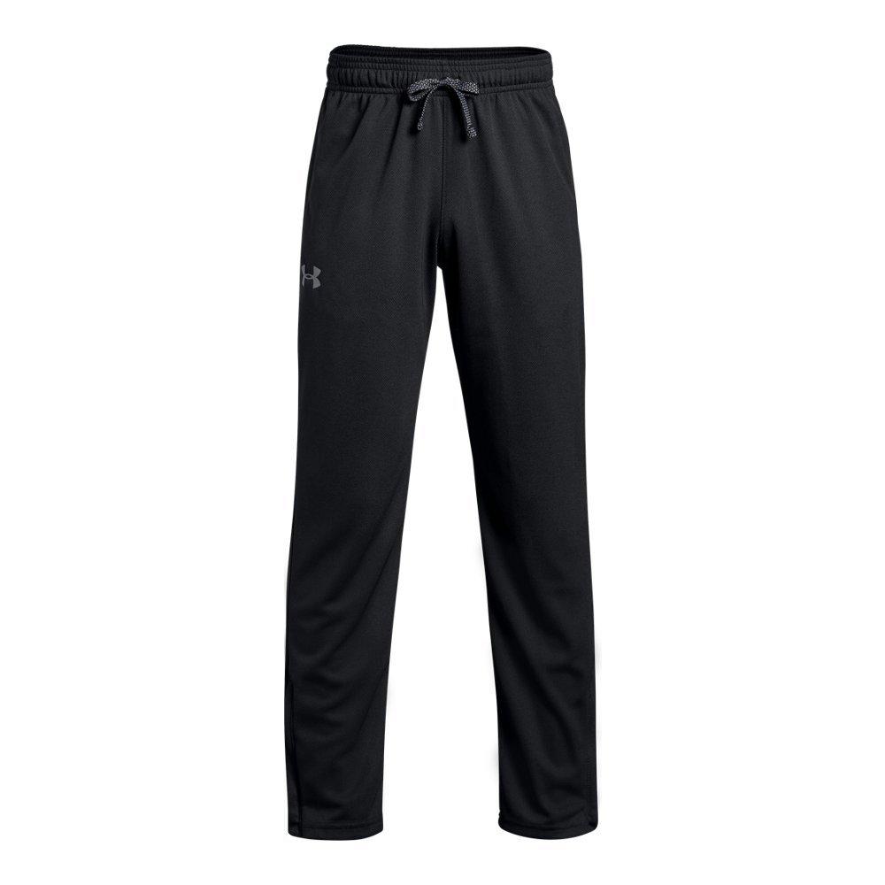 Under Armour Boys' Tech Pants Black (001)/Graphite Youth Large