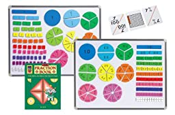 Didax Fraction and Decimal Resource Set, Grades 3-5