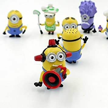 Amazoncom Despicable Me Minions Set of 8 Action Figures included