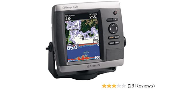 Garmin GPSMAP 541s 5-Inch Waterproof Marine GPS and Chartplotter with on