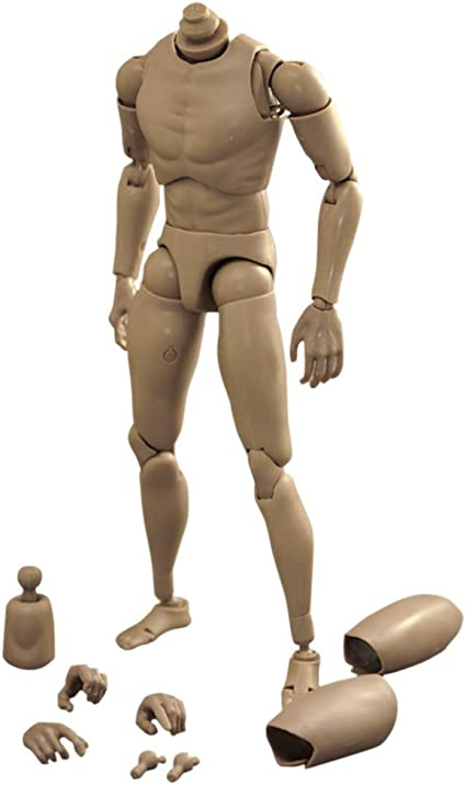"""1//6 Scale Accessories Ver 4.0 Narrow Shoulder Male Body 12/""""for Action Figure Toy"""