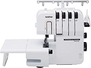 Brother ST4031HD Serger, Strong & Tough Serger, 1,300 Stitches Per Minute, Durable Metal Frame Overlock Machine, Large Extension Table, 3 Included Accessory Feet