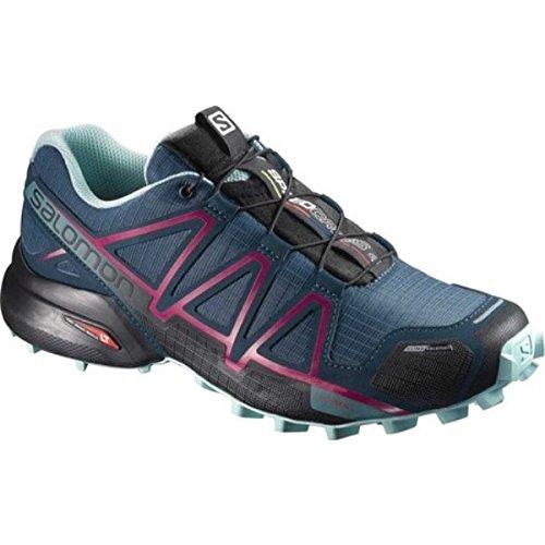 (サロモン) Salomon レディース ランニング?ウォーキング シューズ?靴 Speedcross 4 ClimaShield Trail Running Shoe [並行輸入品]