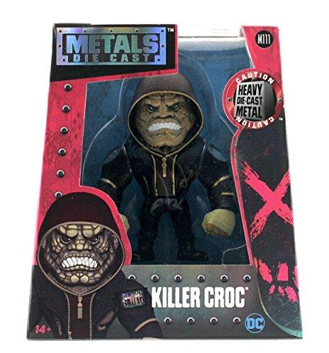 "Jada Metals Diecast 4"" Suicide Squad Killer Croc Jacket Hoodie M111"