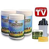 Vitaforce Citrus 3 Bottle TV Special - Best Superfood Multivitamin Antioxidant Probiotic & Prebiotic Supplement - Gluten Free - Non GMO - Vegan
