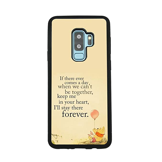 Amazon Com Winnie The Pooh Quote Art Case For Samsung Galaxy S9