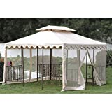 Cheap OPEN BOX – Replacement Canopy Top Cover for the DC America 12 x 12 Gazebo – Standard 350