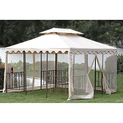 - Replacement Canopy Top for DC America 12 x 12 Scalloped Gazebo by Jur_Global