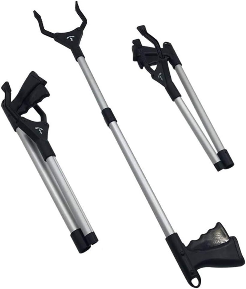 Portable Aluminum Extra Long Reaching Aid Arm Extension Garden Nabber Litter Picker-gold Mixpring Folding Grabber Reacher Tool