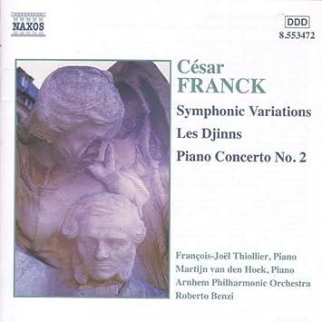 Amazon | フランク:交響的変奏曲...