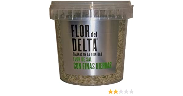 Amazon.com : Flor del Delta Natural Sea Salt with Fine Herbs, 14.1-Ounce : Grocery & Gourmet Food