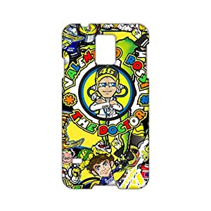 Angl 3D Case Cover Cartoon The Doctor Valentino Rossi Phone Case for Samsung Galaxy s 5