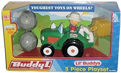 Amazon Com Other Buddy L Lil Buddy S Green Tractor Farmer Kids