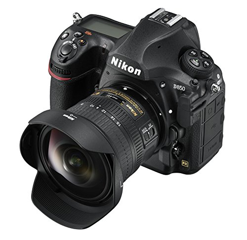 Digital SLR Camera Body w/ AF-S FISHEYE NIKKOR 8-15mm f/3.5-4.5E ED Lens ()