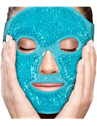 Face Eye Mask Gel Cold Pack – Reduce Puffiness, Bags...