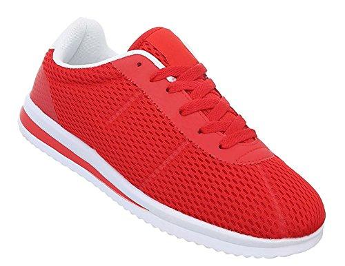 Schnelle Rot Freizeitschuhe Sneaker Turnschuhe Leichte Herren Laufschuhe Schuhe Trendy Sportschuhe nqBYYXz8w