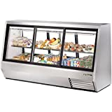 True Mfg TDBD-96-6, 96 Wide Double Duty Refrigerated Deli Case