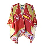 NFL Kansas City Chiefs Whipstitch Scarf Poncho