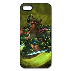 TMNT Mutant Ninja Turtles iPhone 5 Case Hard Plastic Fitted Case for iPhone 5