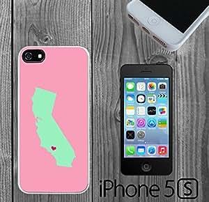 California Minimal Love Custom made Case/Cover/skin FOR iPhone 5/5s