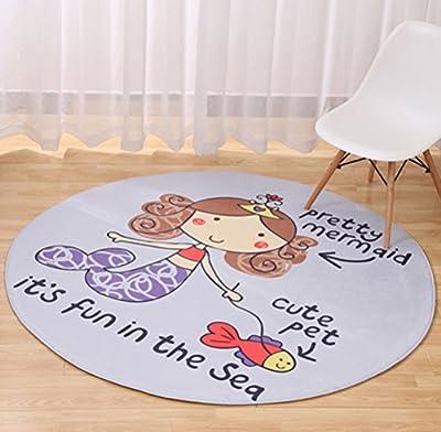 Multi-sized Cartoon Animal Round Carpet Area Floor Rug Doormat LivebyCare Entrance Entry Way Front Door Mat Ground Rugs for Decor Decorative Living Room