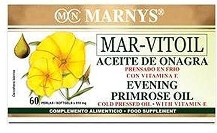 Aceite de Onagra (Mar-Vitoil) 60 perlas de 500 mg de Marny&#