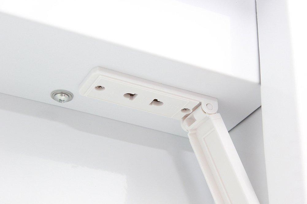 WarmieHomy Morden Bathroom Mirror Cabinet 60 LED With